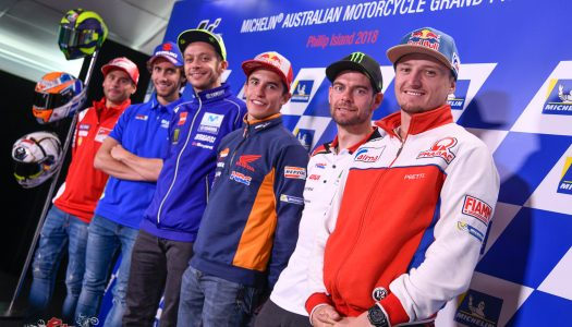 MotoGP riders introduced to Aussie wildlife at Phillip Island