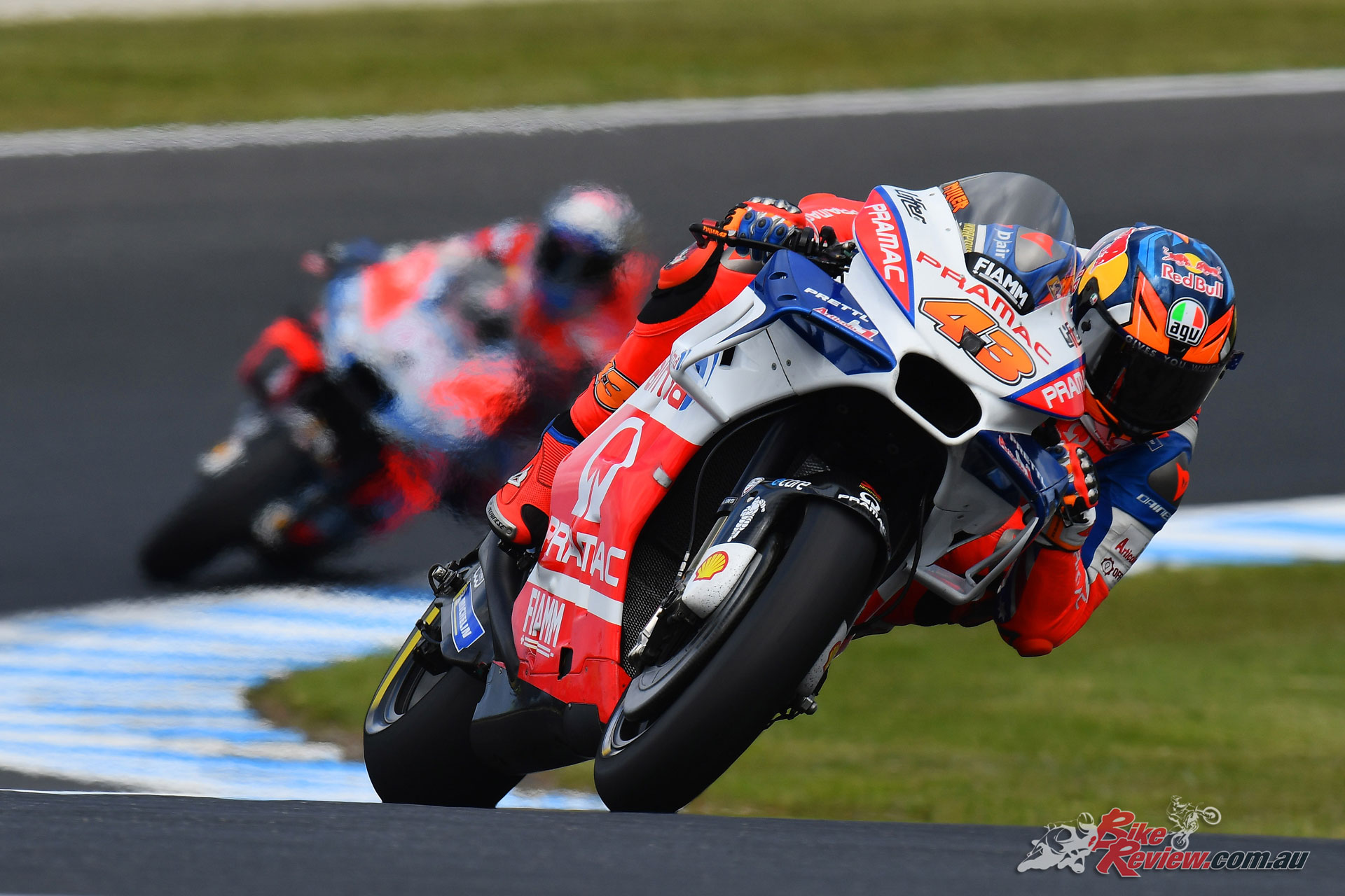 Jack Miller at Phillip Island in 2018