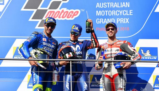 Viñales claims the win for Yamaha at Phillip Island MotoGP