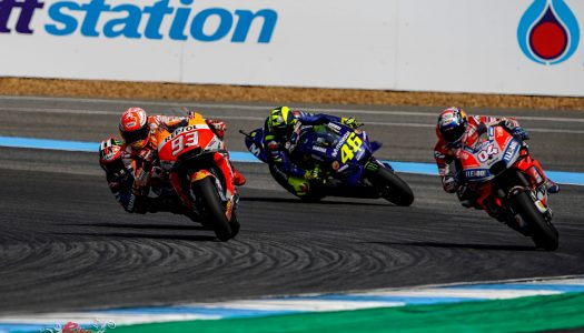 Buriram MotoGP down to the wire – Marquez wins
