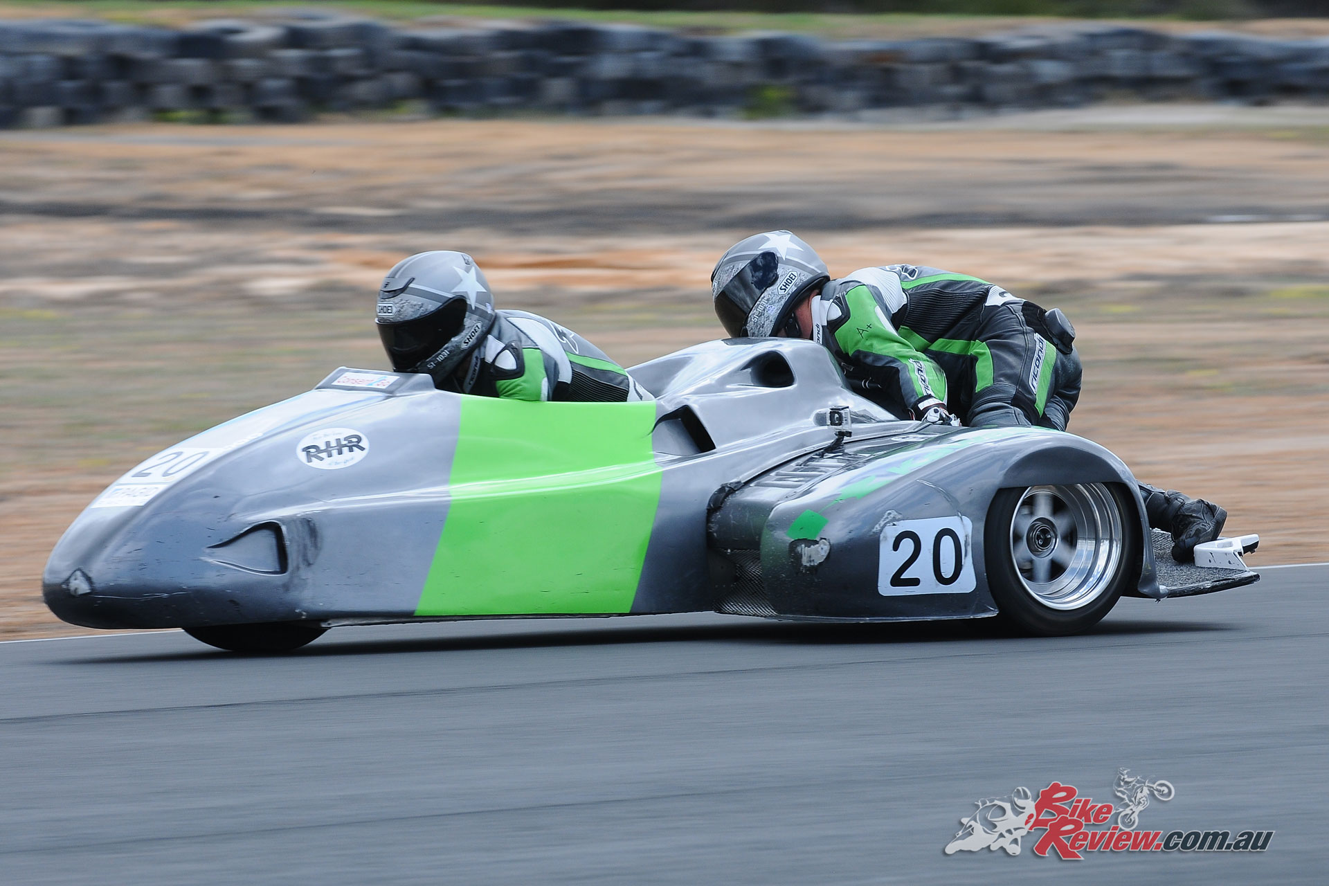 Graeme Evans & Jarrod Scott in the Sidecars claimed the title - WA State RR Championship - Round 4, 2018