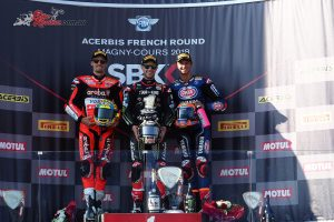 Superbikes Race 2 Podium - Magny-Cours 2018 WSBK