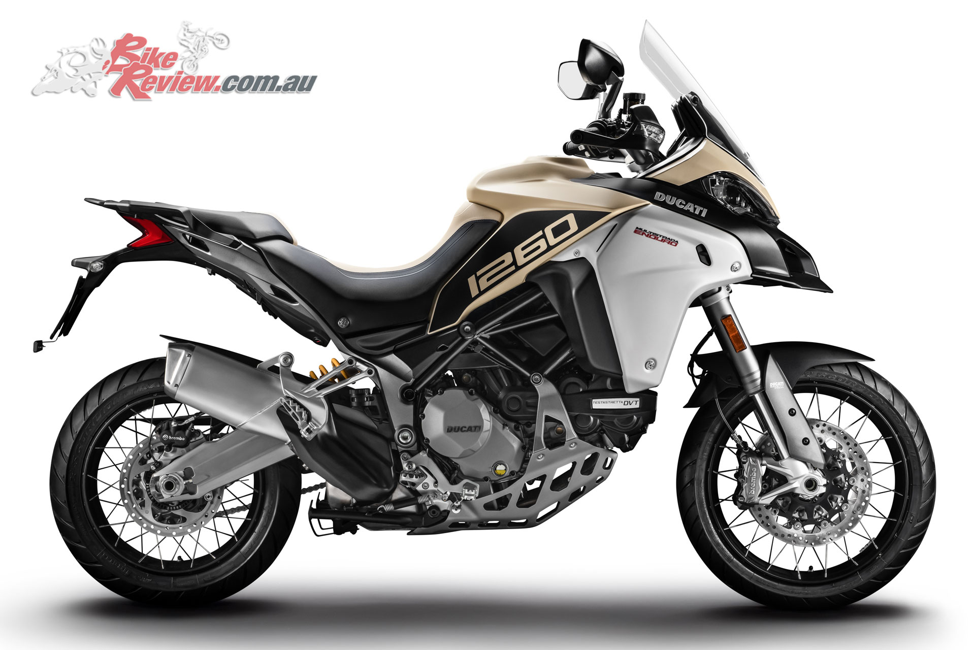 2019 Ducati Multistrada 1260 Enduro in Sand colour option