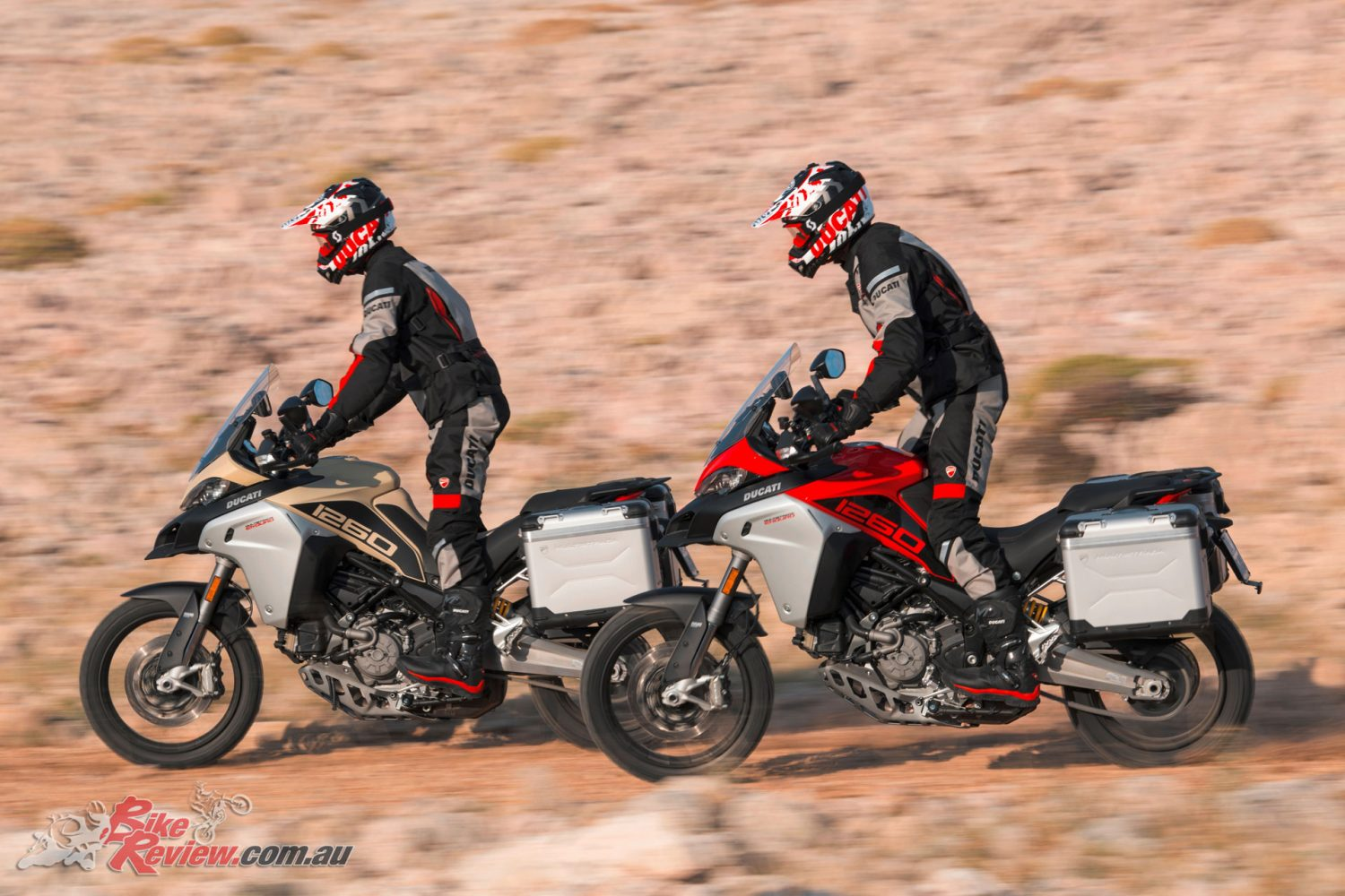 Ducati announce big updates to the Multistrada Enduro with a 1260 edition arriving in 2019