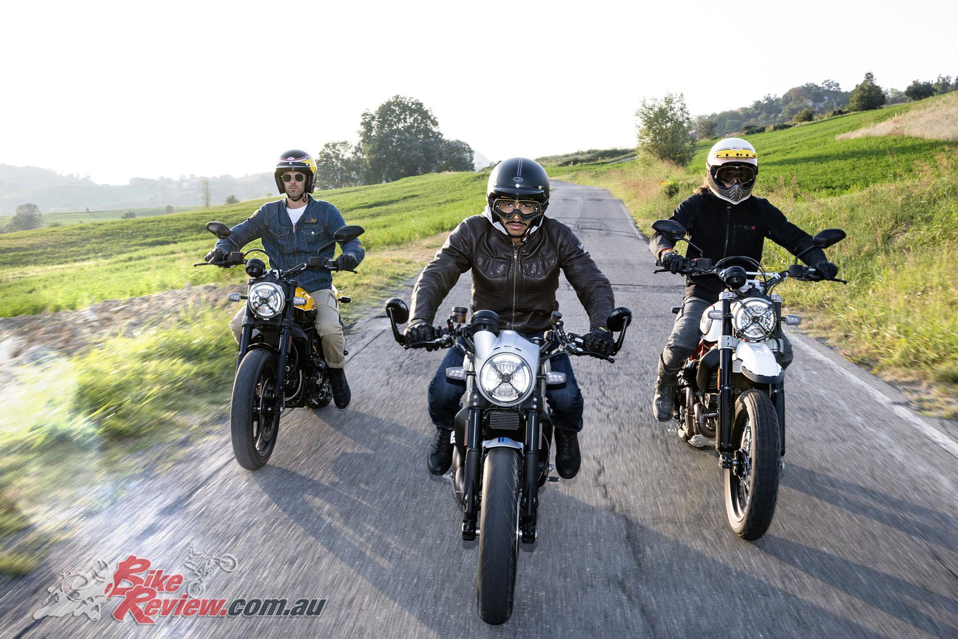 2019 Ducati Scrambler updates