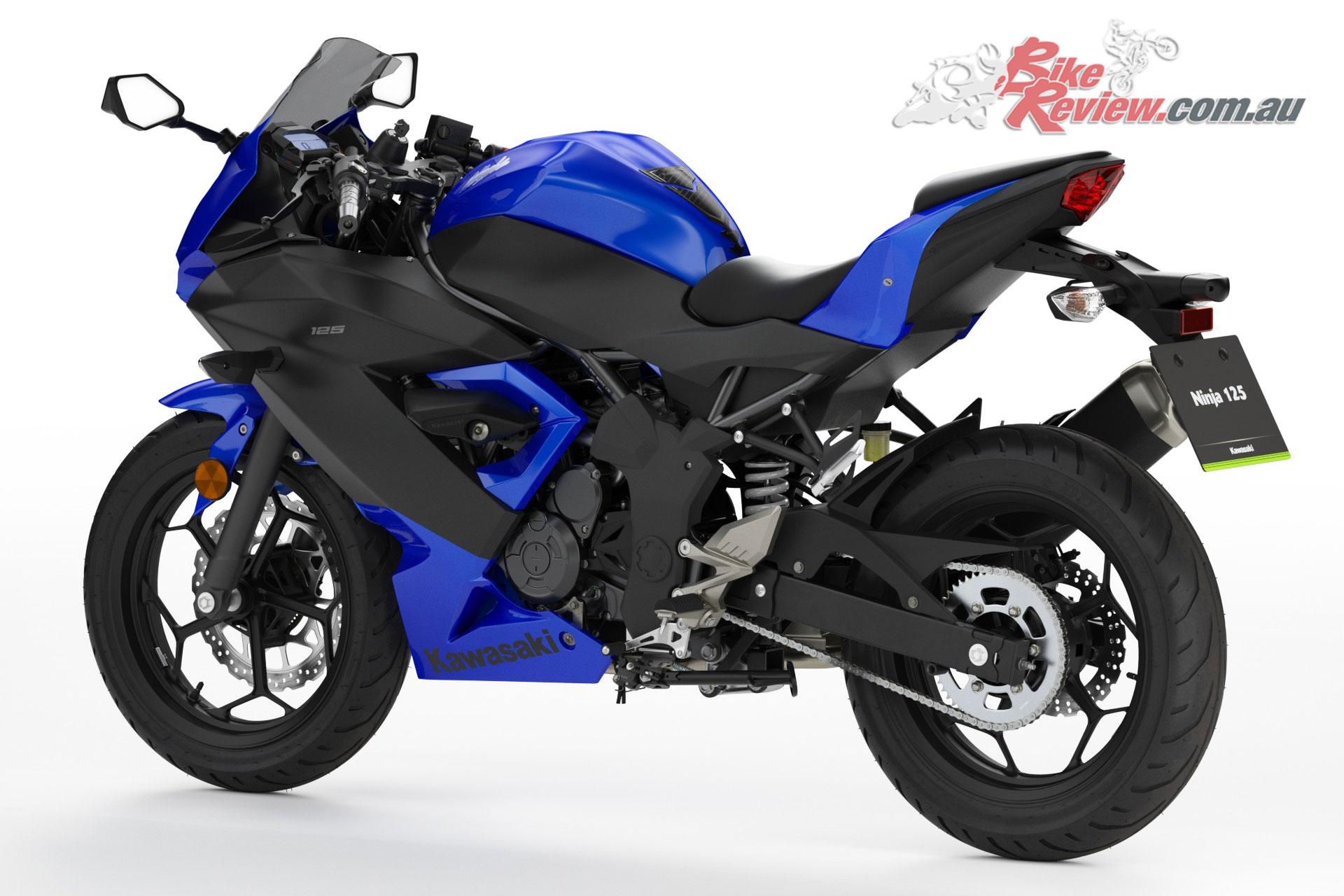 new model 2019 kawasaki z125 amp ninja 125 bike review