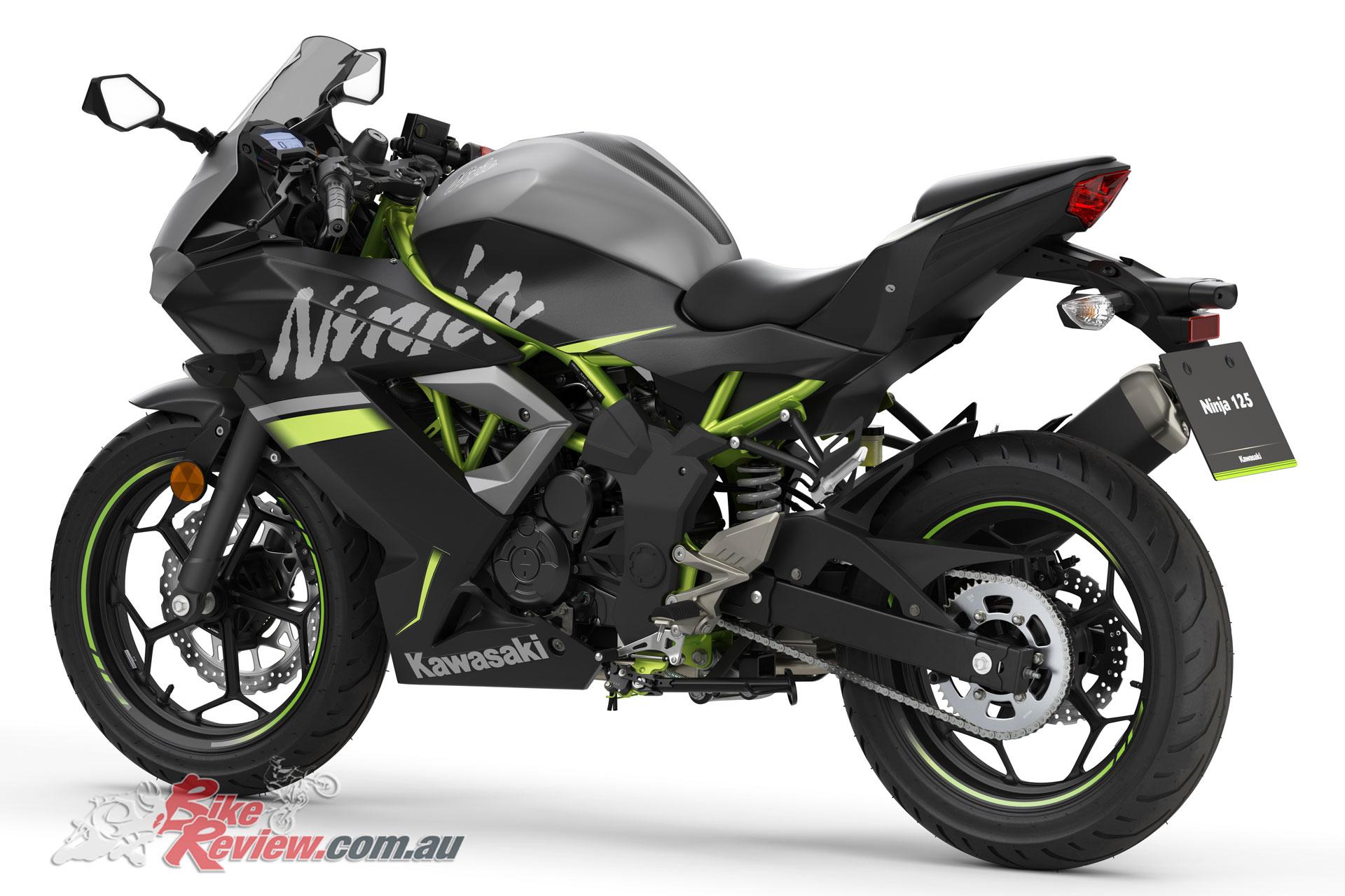 2019 Kawasaki Ninja 125 - Metallic Flat Spark Black