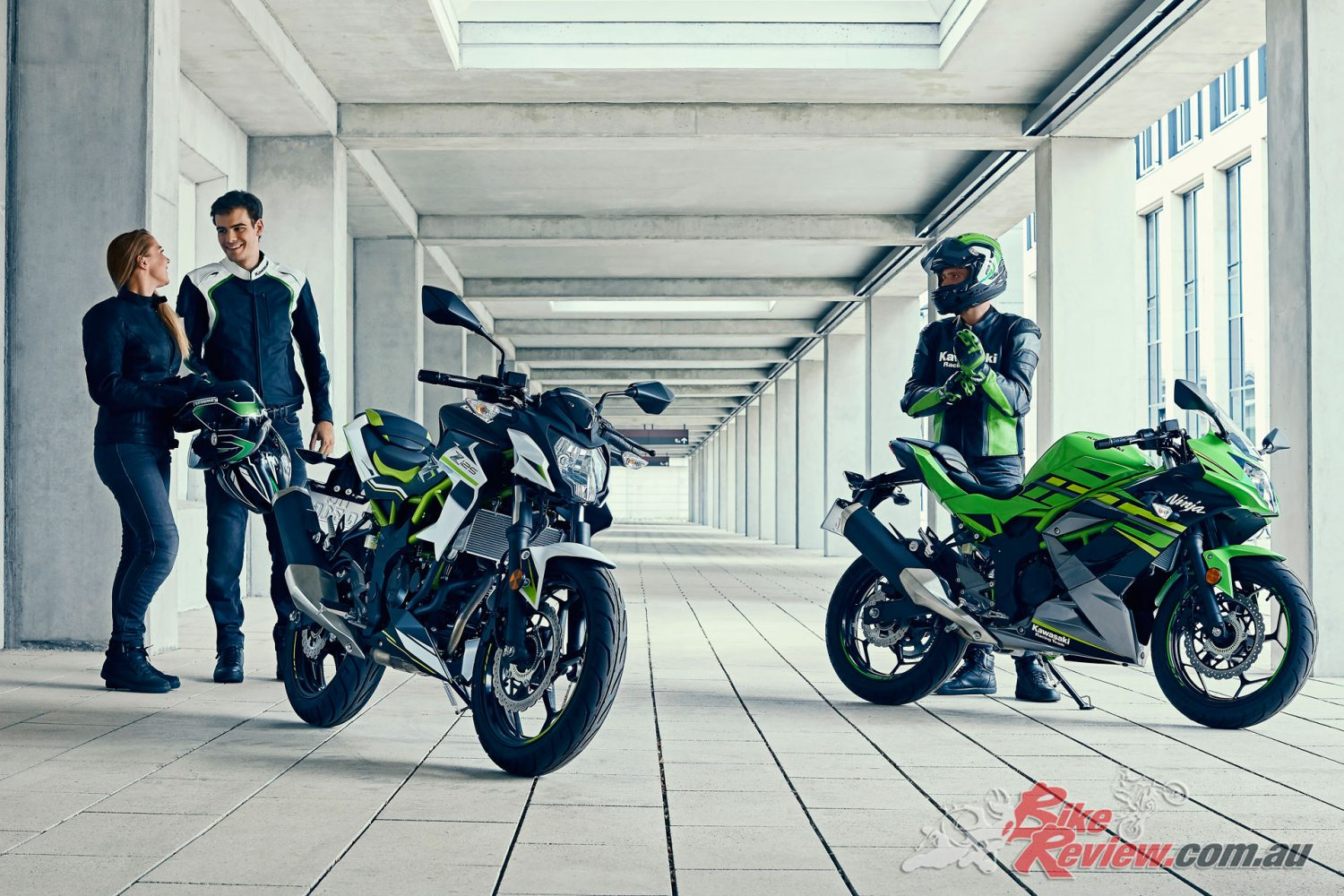 Kawasaki unveil two new 125 machines - The Ninja 125 and Z125