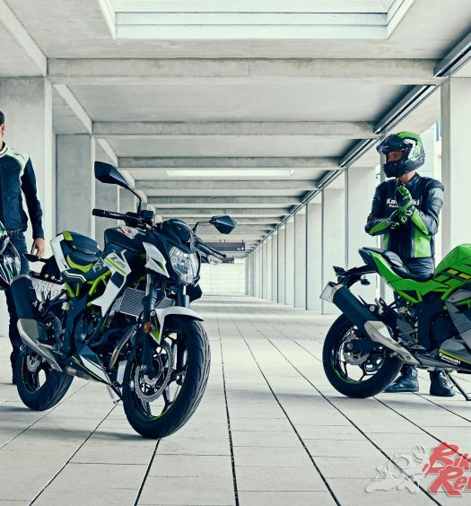 Kawasaki unveil two new 125 machines - The Ninja 125 and Z125