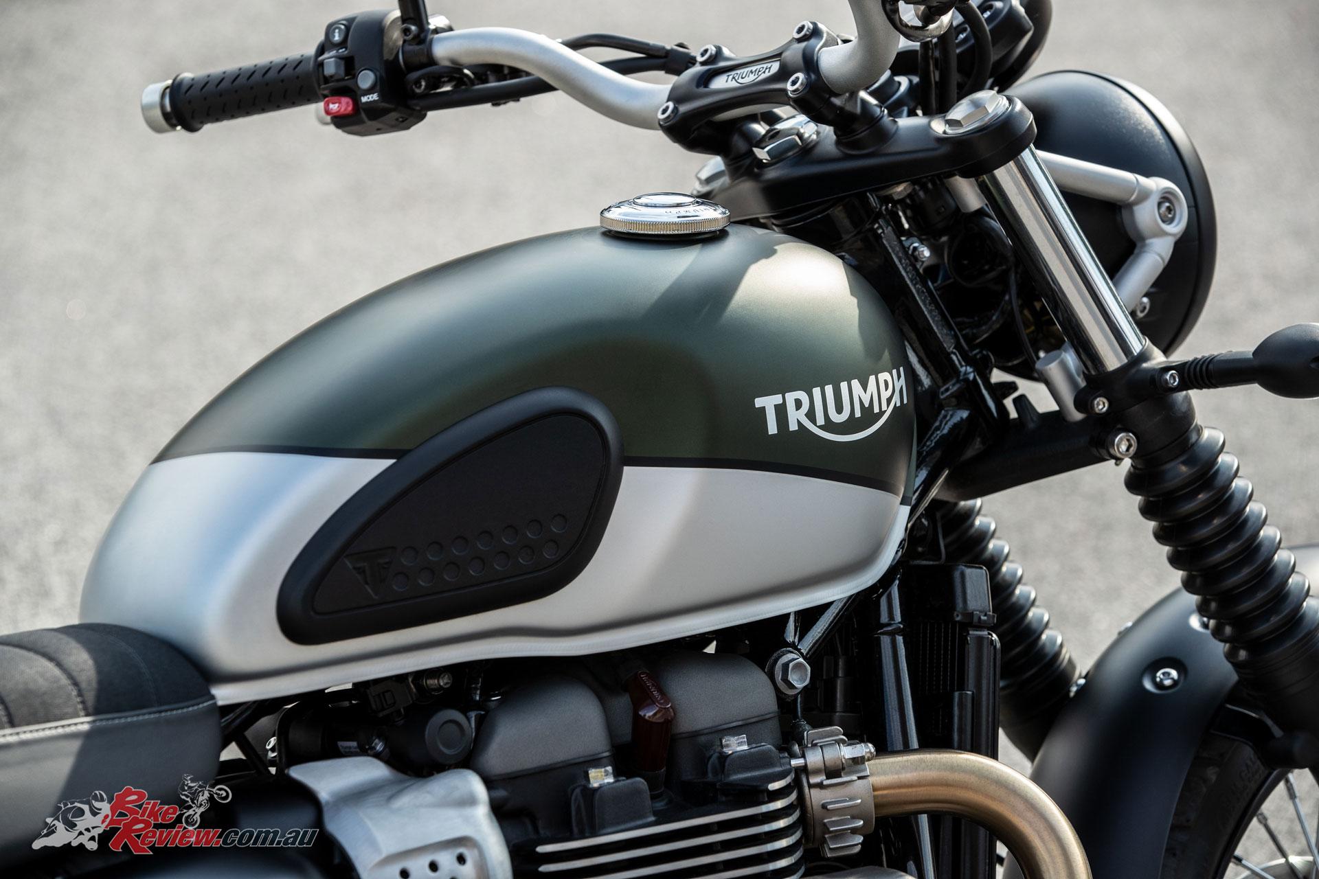 2019 Triumph Street Twin Seat Height