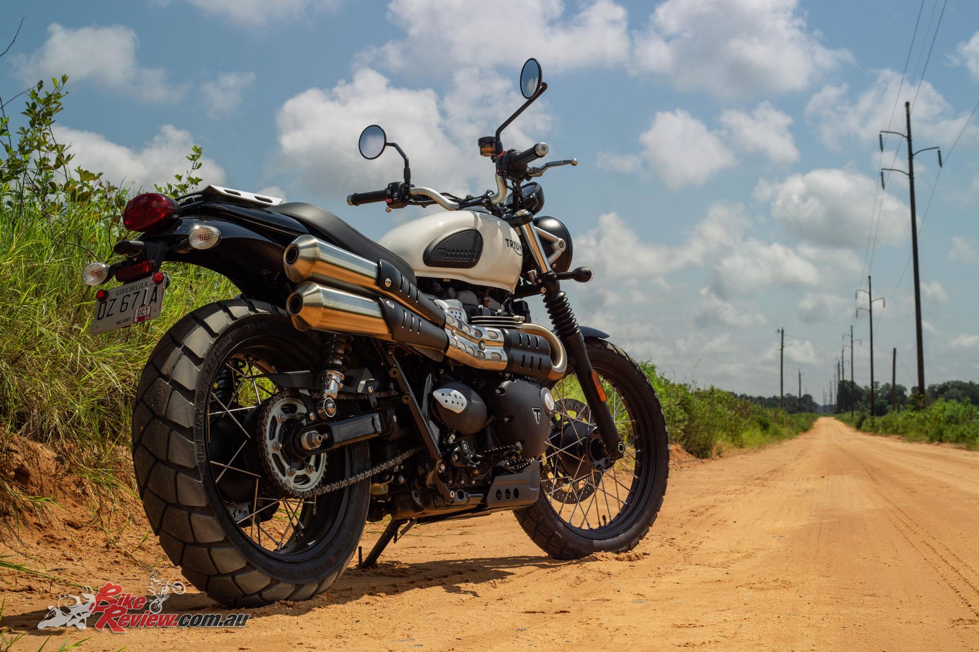 Model Update 2019 Triumph Street Scrambler Bike Review