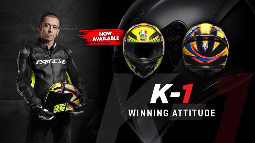 AGV K-1 Helmets, Rossi approved!