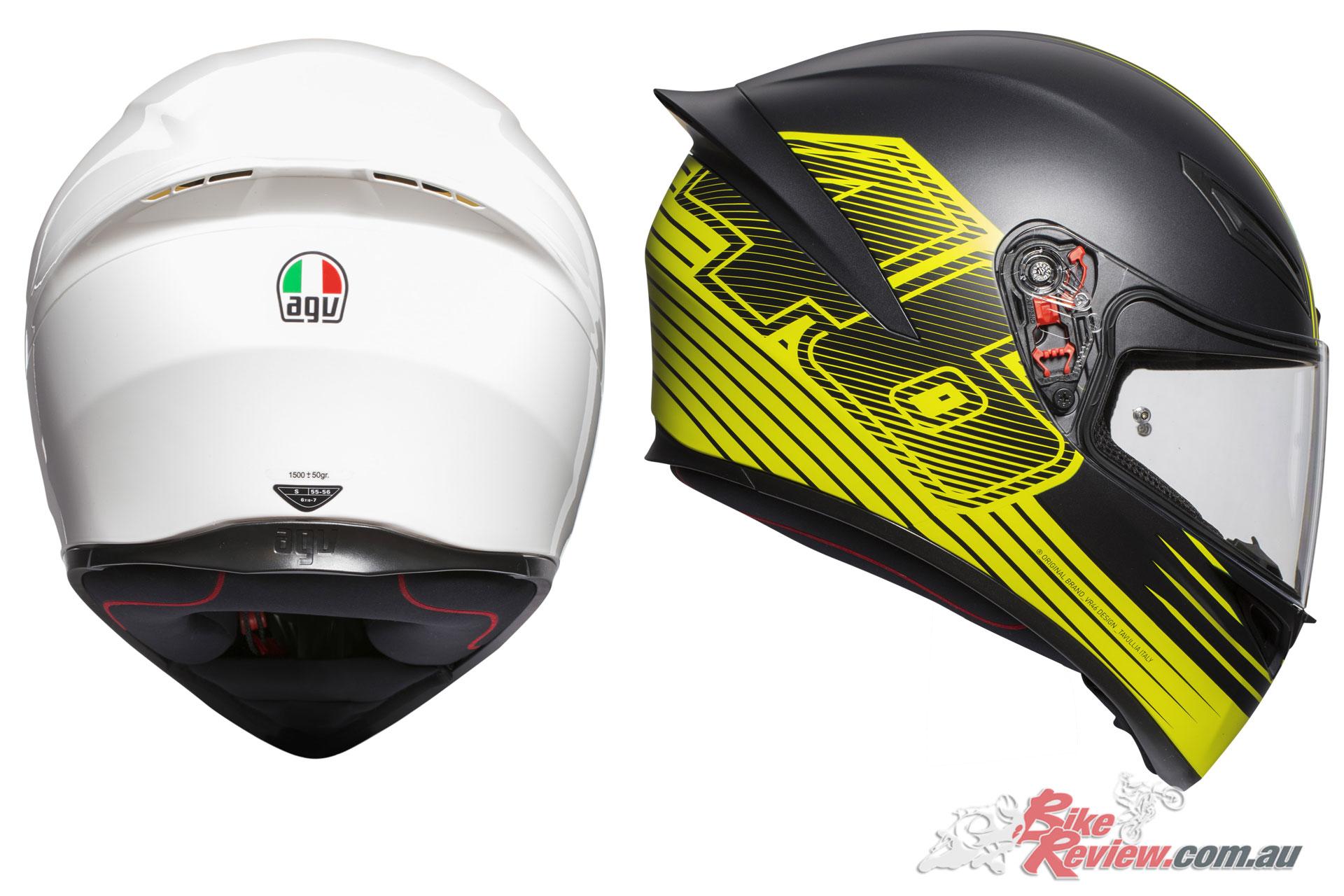AGV K-1 Helmet - White, Edge