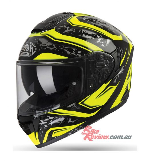 Airoh ST501 Helmet - Dude Yellow Gloss from $499.95 RRP