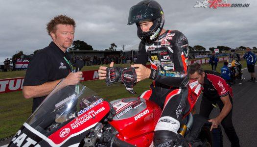 Mike Jones to wildcard for Angel Nieto Ducati at Phillip Island GP