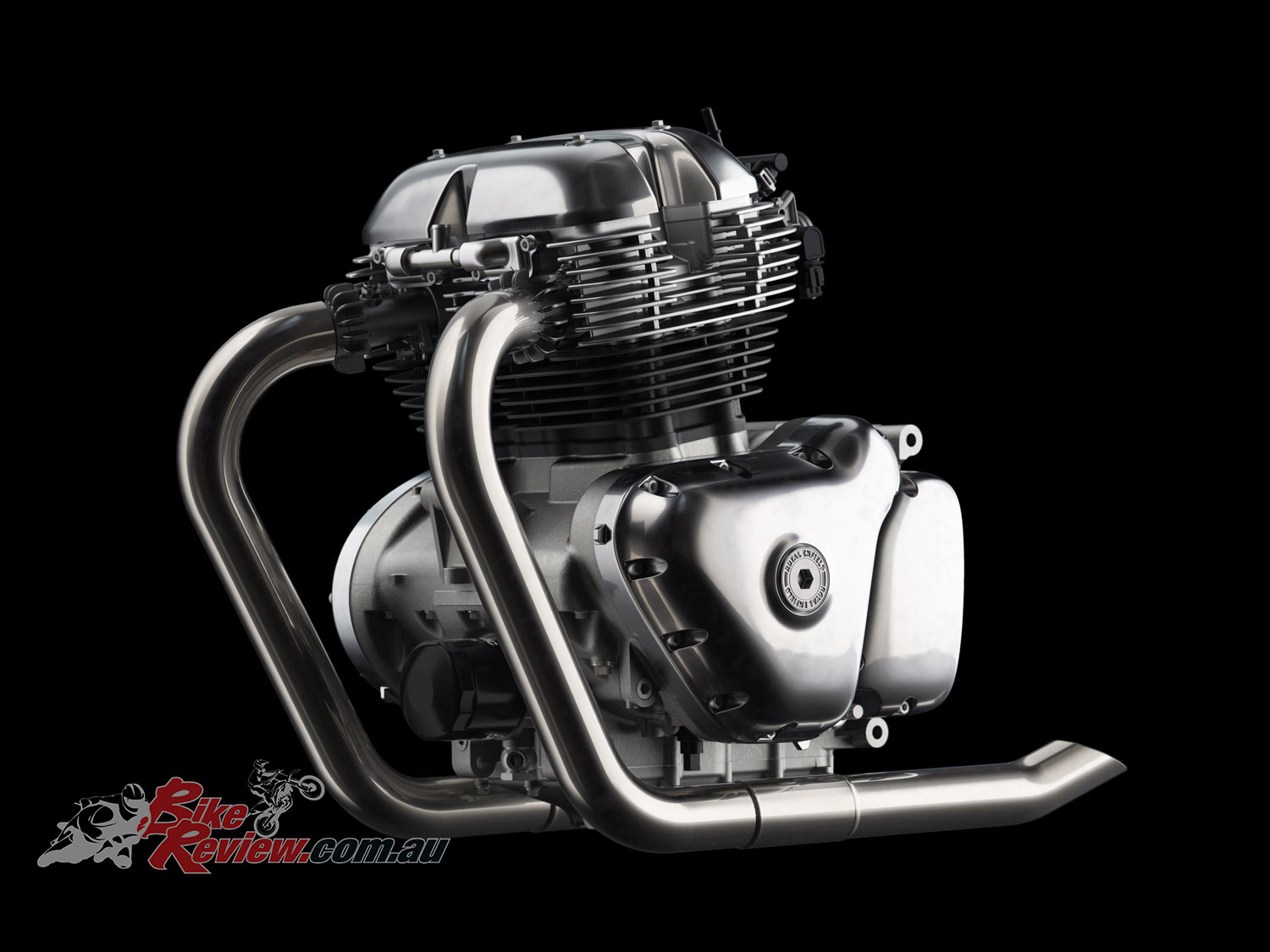 2019 Royal Enfield Continental GT 650 engine