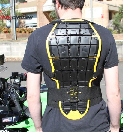 Spidi Back Warrior EVO Back Protector Review