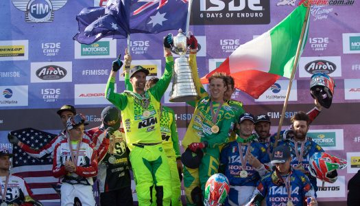 Australia Crowned 2018 ISDE World Trophy Champions