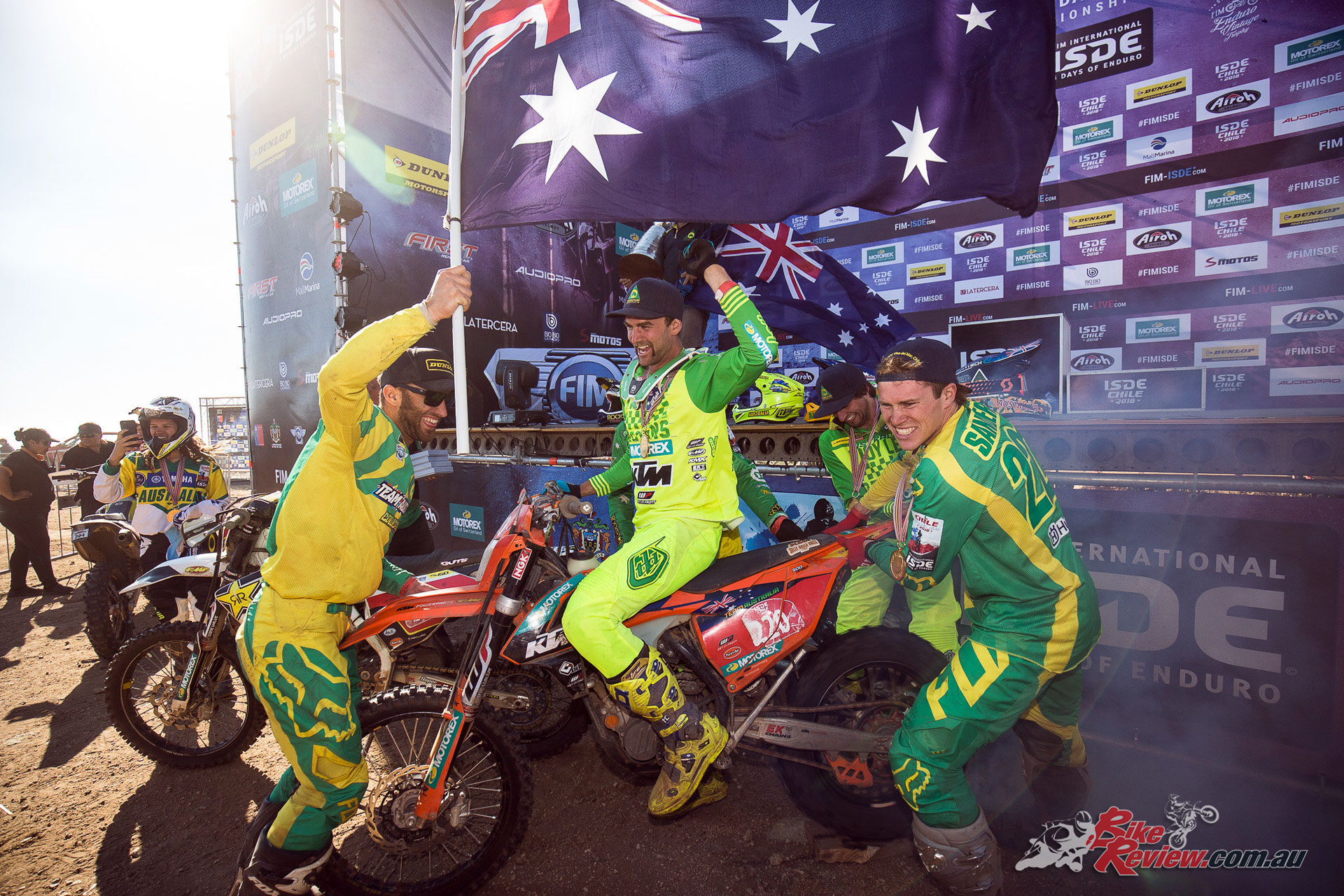 Team Australia - 2018 ISDE - Image by John Pearson Media
