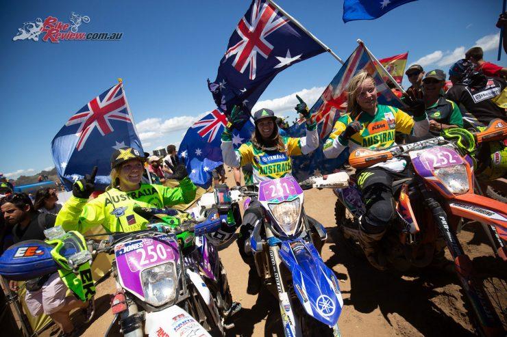 The Australian Women's Team - 2018 ISDE - Image by John Pearson Media