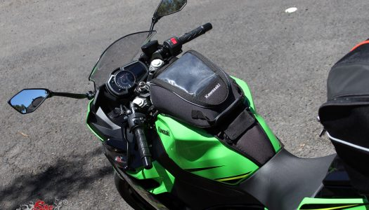 Product Review: Kawasaki Ninja 400 Tank Bag
