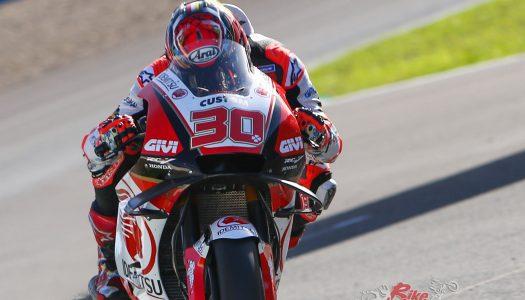 Nakagami tops Jerez MotoGP testing