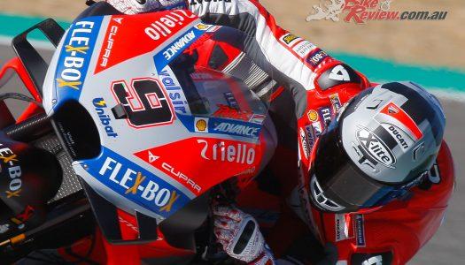 Petrucci the MotoGP pacesetter on Jerez Test Day 1