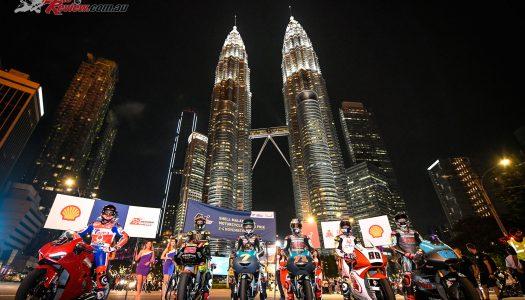 MotoGP arrives in Kuala Lumpur, Malaysia