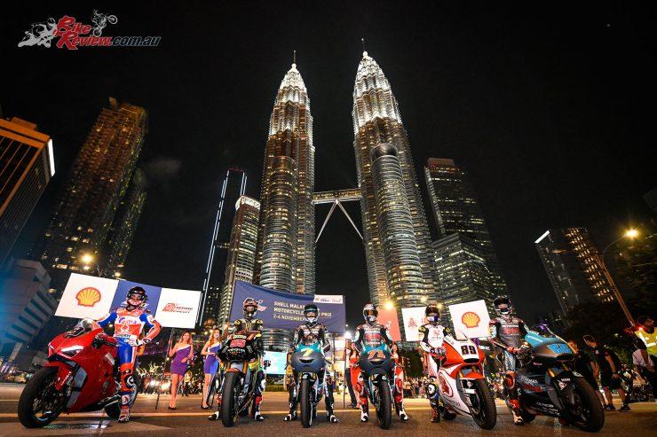 MotoGP arrives in Kuala, Lumpur, Malaysia
