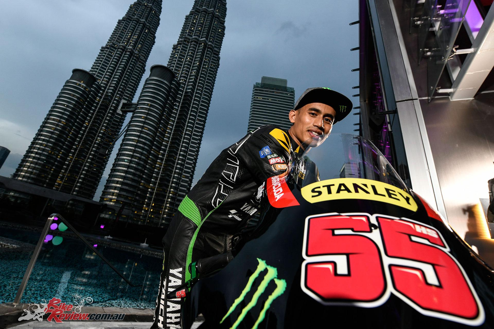 Hafizh Syahrin - MotoGP 2018 Kuala, Lumpur, Malaysia