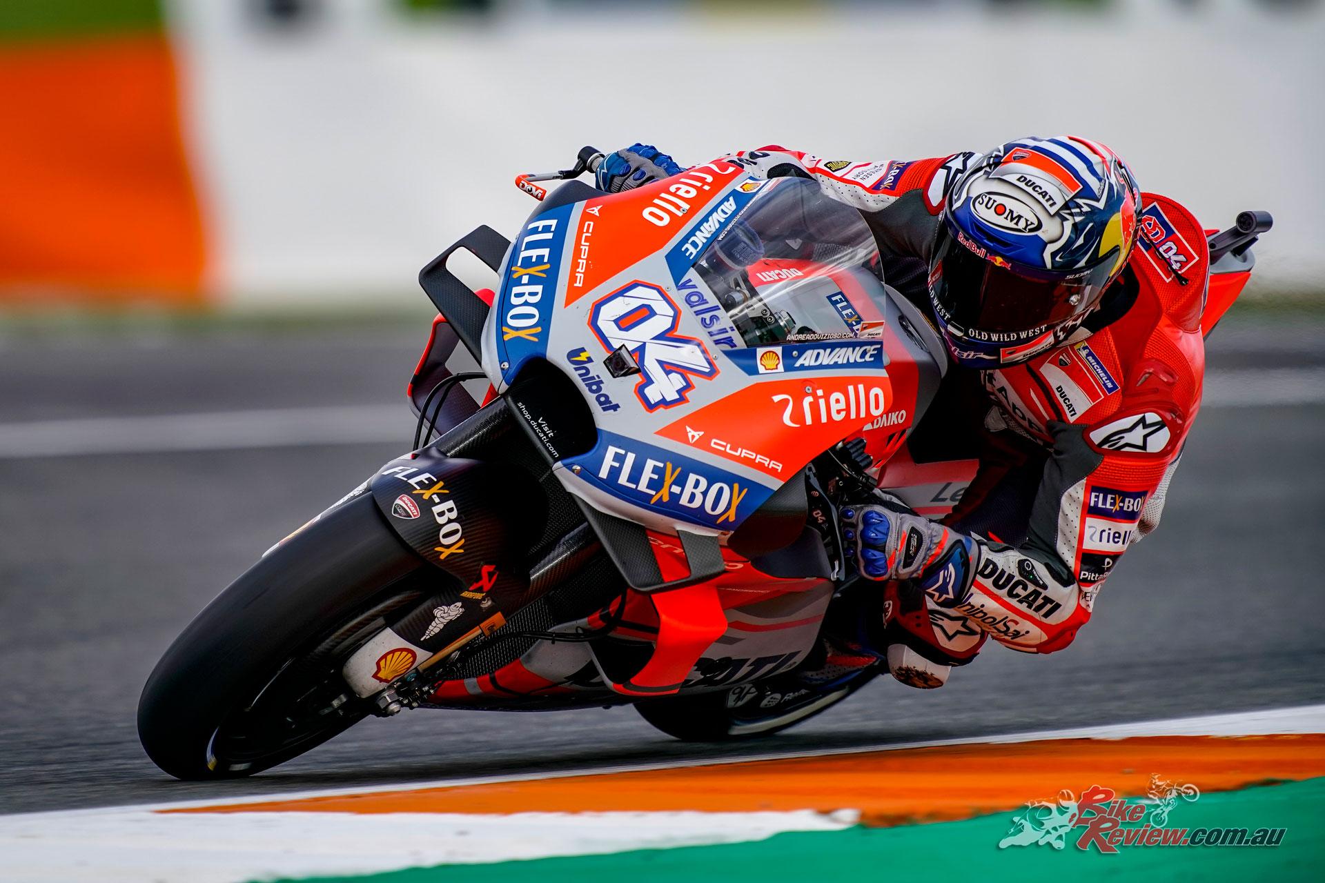 Andrea Dovizioso - Valencia MotoGP Test