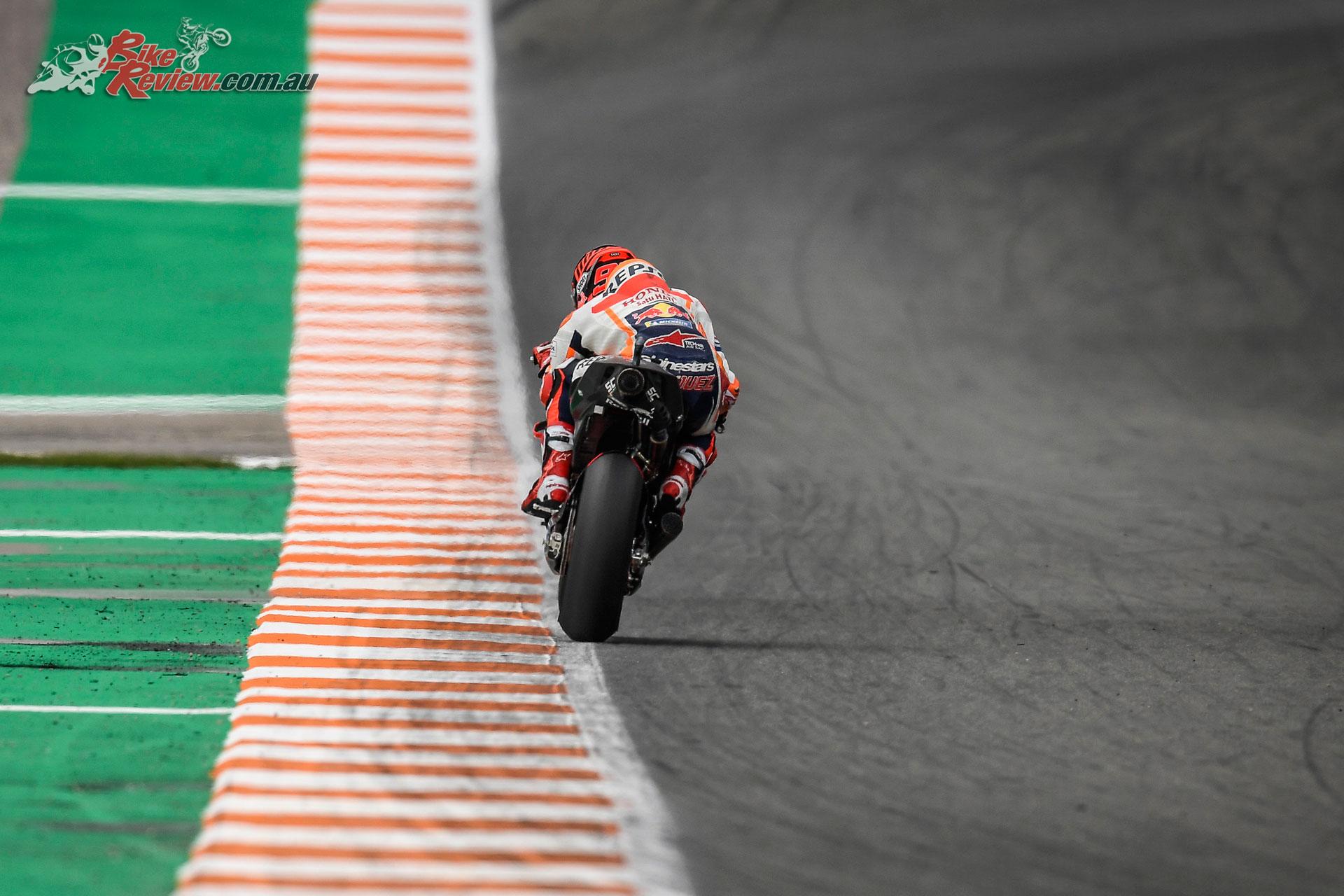 Marc Marquez - Valencia MotoGP Test