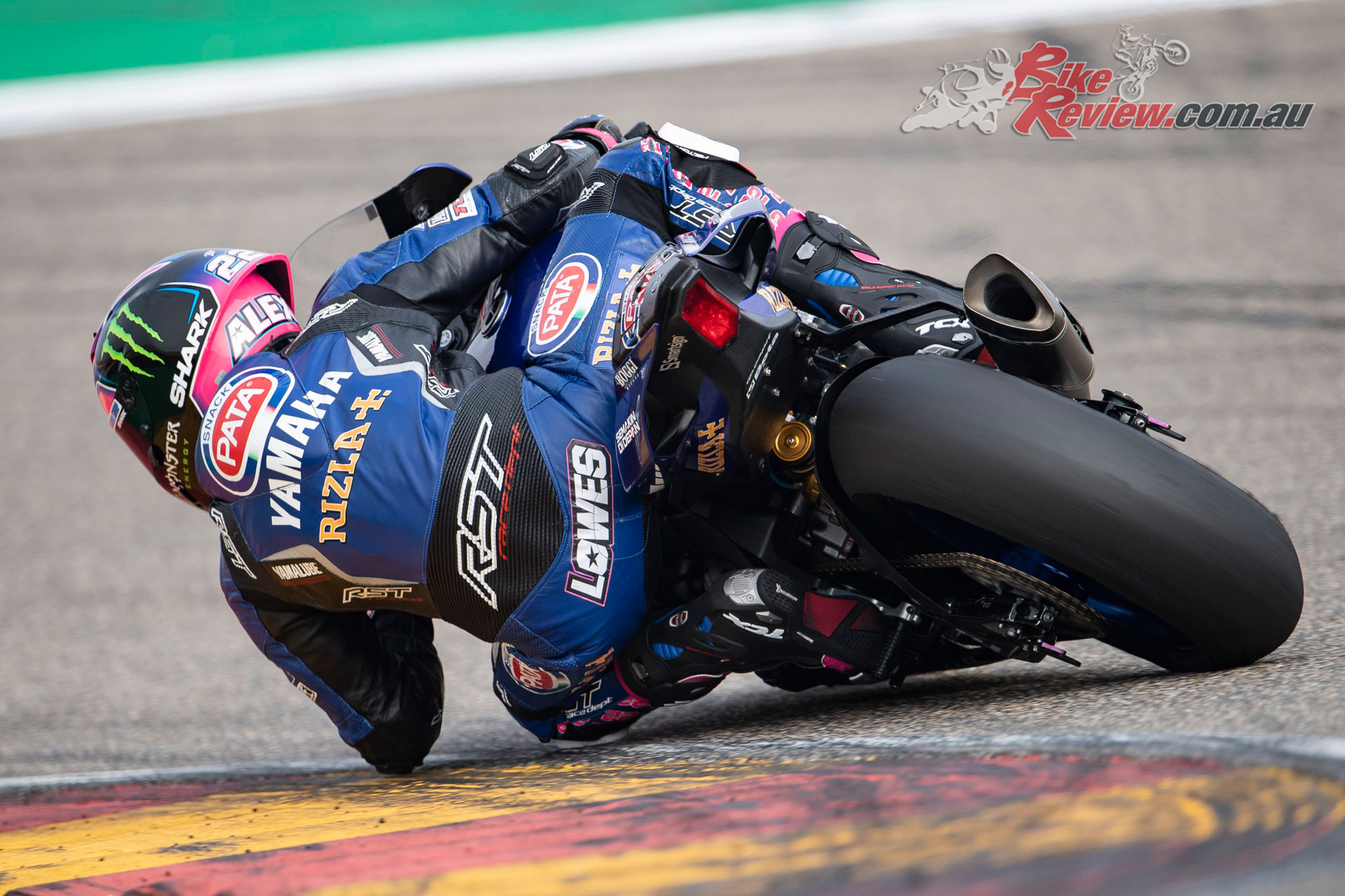 Alex Lowes - Aragon Test November 2018 - Image by GeeBee Images