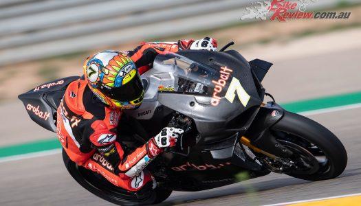 Aragon WorldSBK Test Report Days 1 & 2