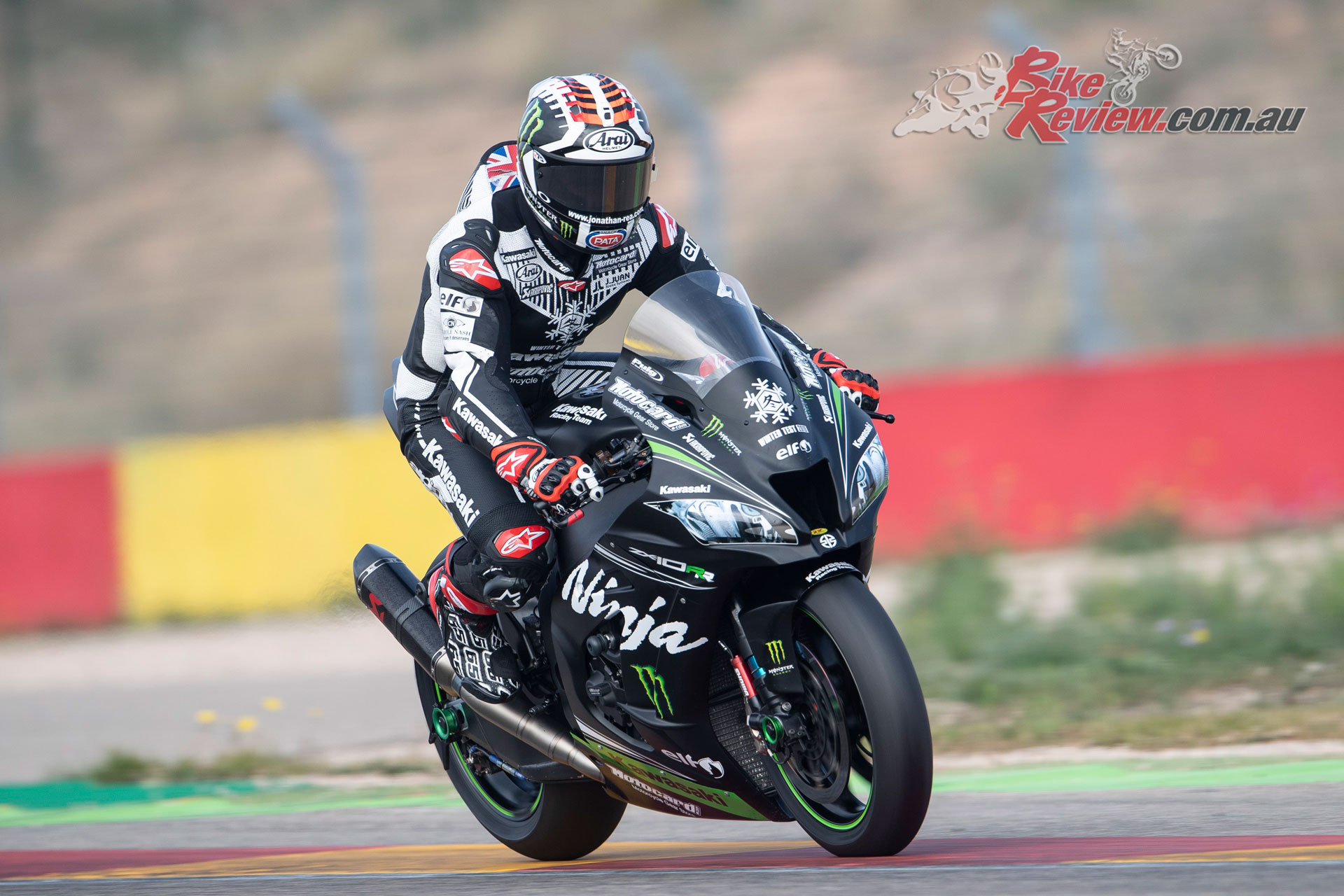Jonathan Rea - Aragon Test November 2018 - Image by GeeBee Images