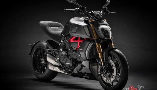 Ducati Diavel 1260 displayed at International Motor Show 2019