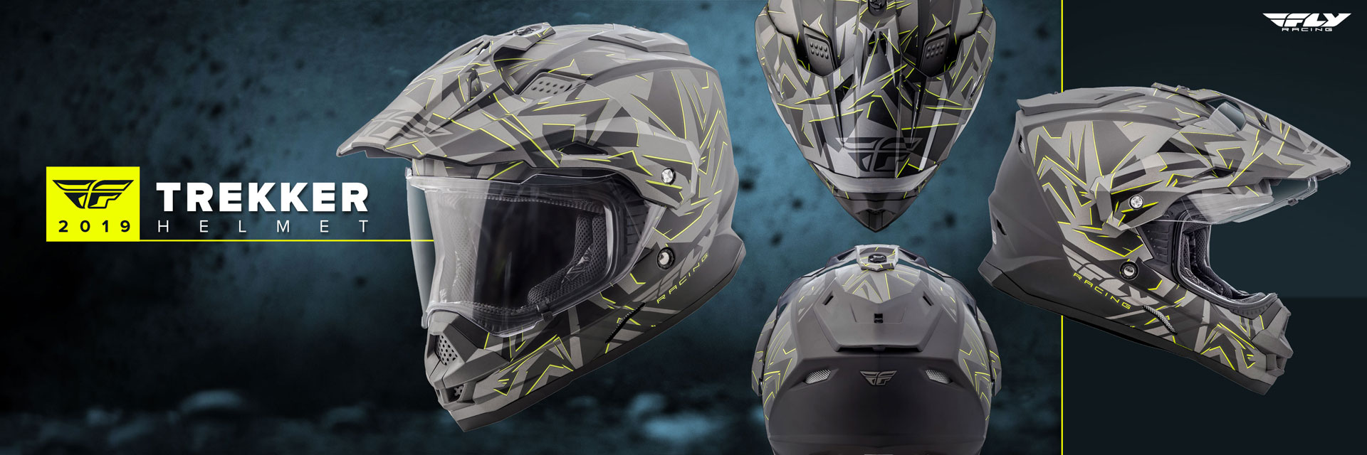 2019 Fly Racing Trekker Helmets