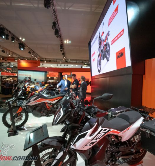 KTM at EICMA revealing 2019 models