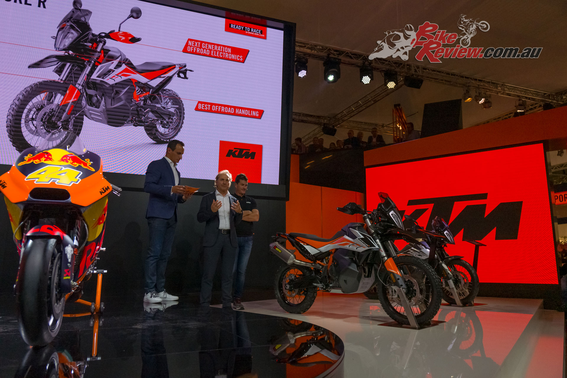2019 KTM Adventure 790 R unveiled