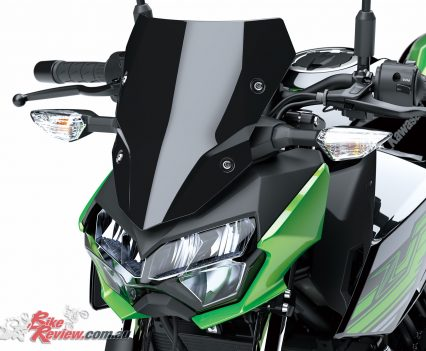2019 Kawasaki Z400 LAMS - Accessory screen
