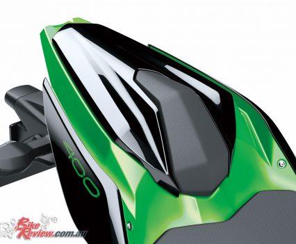 2019 Kawasaki Z400 LAMS - Accessory seat cowl
