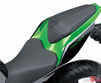 2019 Kawasaki Z400 LAMS - Pillion seat