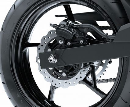 2019 Kawasaki Z400 LAMS - Rear caliper and brake