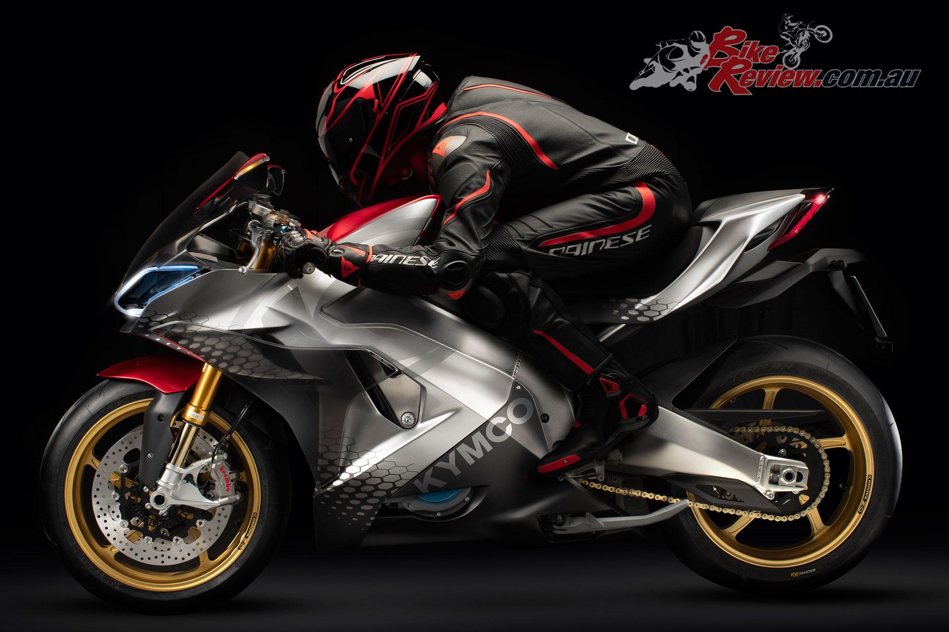 Kymco SuperNEX electric supersport concept bike