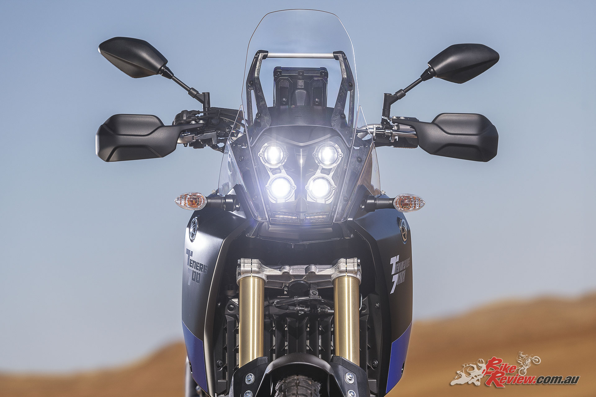 2019 Yamaha Tenere 700 - LED 2+2 headlight