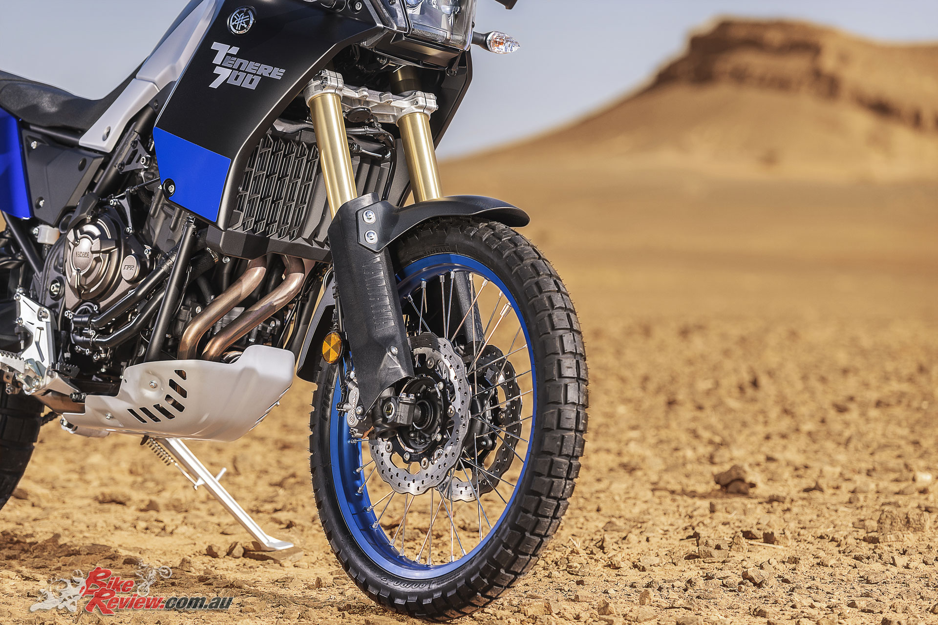 2019 Yamaha Tenere 700 - 43mm long travel forks