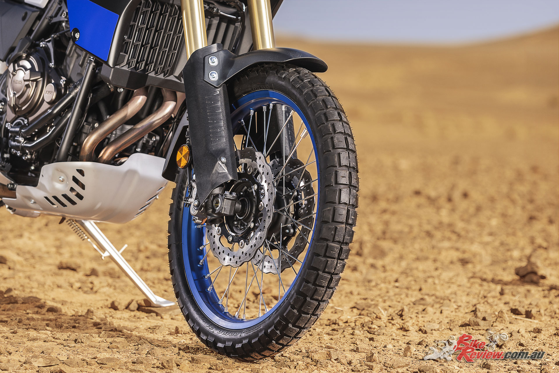 2019 Yamaha Tenere 700 - Spoked wheels speak to the Tenere 700s off-road aims