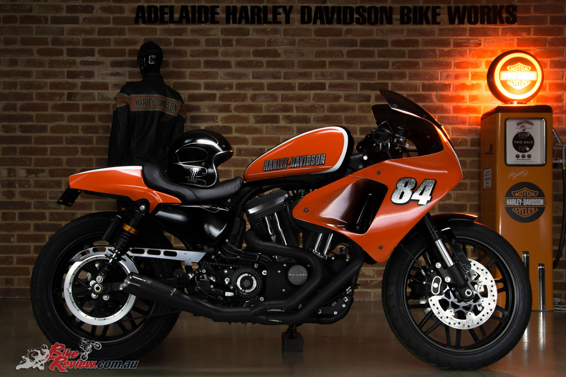 "Adelaide Harley-Davidson's Roadster-based ""Back to the Track"""