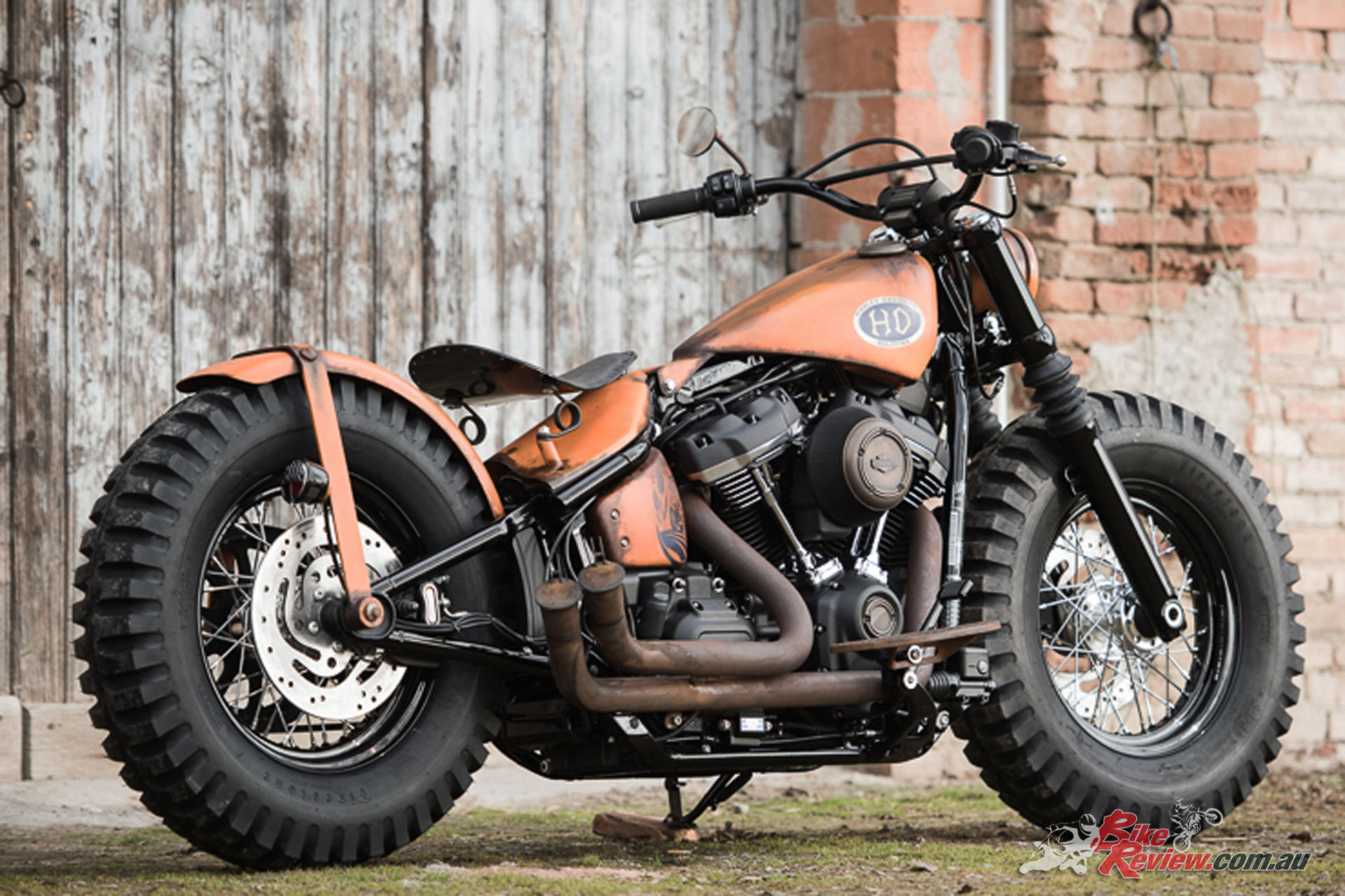 "Bologna Harley-Davidson's ""Farm Machine"""