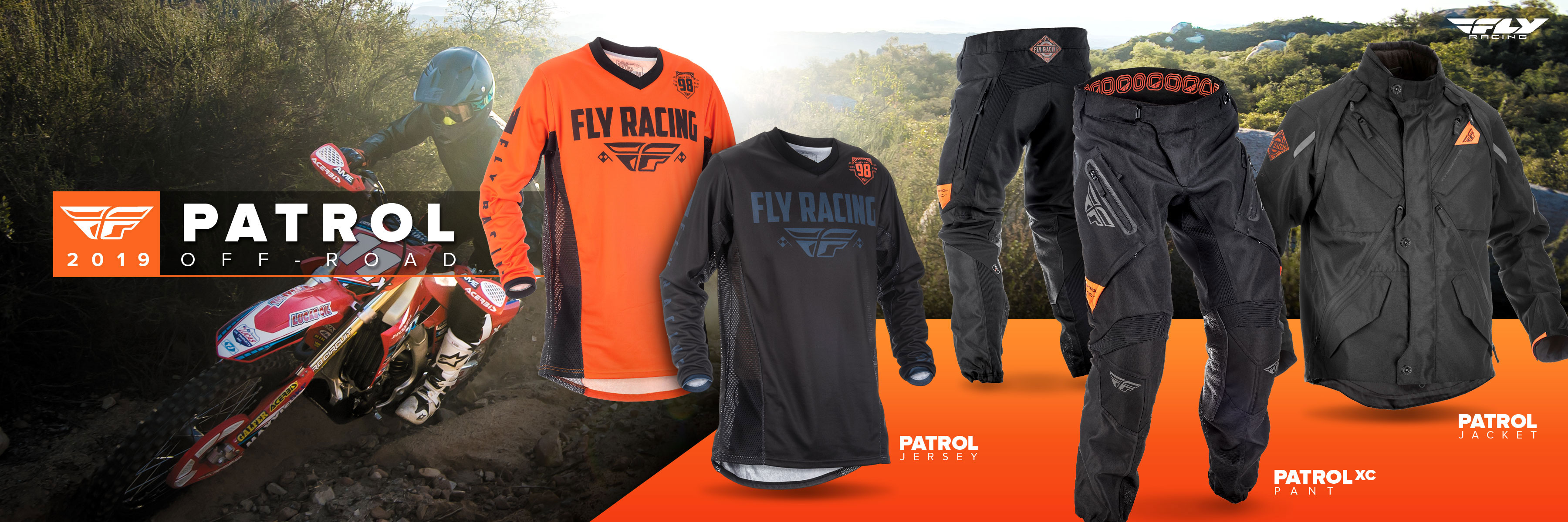 Fly Racing Patrol Off-Road Gear - Available now!
